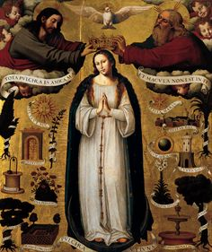 The Immaculate Conception by Juan De Juanes (Spanish Renaissance)
