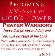 Prayer of armour of god