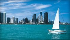 One of my favorite memories ever!  Sitting at Navy Pier's Beer Garden, listening to a live Chicago band, watching sail boats go by with the Chicago skyline in the back.  Amazing.  Navy Pier-Chicago