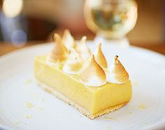 Lemon meringue pie. Try it maby the best ou ever had. I have eaten it at Jamie Oliver's 15 in London. Brilliant