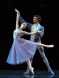 "<<Evgenia Obraztsova and Philip Stepin with the Mariinsky Theatre Company in ""In The Night"">>"