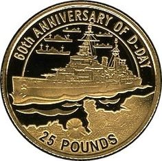 Coin%3A%2025%20Pounds%20(60th%20Anniversary%20of%20the%20D-Day)%20(Alderney)%20(2004%20-%2060th%20Anniversary%20of%20the%20D-Day)%20WCC%3Akm39%20%23colnect%20%23collection%20%23coins