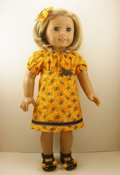 American Girl Doll Clothes Halloween Spooky by dressurdolly2, $17.00