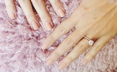 Lauren Conrad: See a Close-Up of Her Wedding Ring Set (and Classic Nude Manicure!) | Photo by: Lauren Conrad via Instagram | TheKnot.com