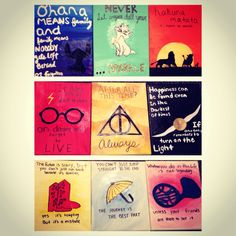 Canvases for Disney, Harry Potter, and how i met your mother