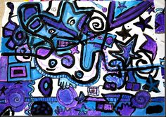 Hip Hop Kandinsky Murals