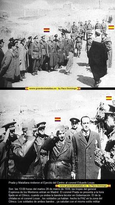 RENDICION DEL FRENTE POPULAR A OS NACIONALES EN MADRID