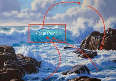 How to Paint a Dramatic Seascape in 5 Easy Steps Simple Oil Painting, Oil Painting Tips, Painting Videos, Painting Lessons, Painting Techniques, Oil Painting On Canvas, Painting Tutorials, Painting Classes, Watercolour Tutorials