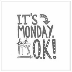 Monday #tipography