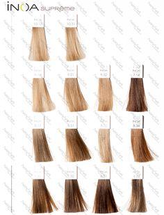 Paleta Loreal Inoa Supreme | paleta kolorów farb do włosów
