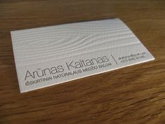 Less is More:40 Brilliant Minimalist Business Cards | Design Inspiration