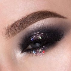 @rebeccaseals included our Love You So Mochi Highlighting Palette in this glittery, smokey eye!    #nyxcosmetics #nyxprofessionalmakeup