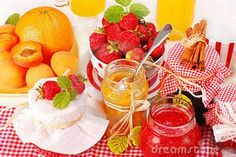 Sweet and tangy fruit is made into sweet, rich jams and jellies