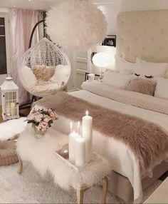 Home Decoration Bedroom .Home Decoration Bedroom Red Bedroom Decor, Room Ideas Bedroom, Cozy Bedroom, Girls Bedroom, Bed Room, Modern Bedroom, Contemporary Bedroom, White Bedroom, Girl Rooms