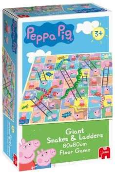 Peppa Pig Giant Snakes & Ladders Game Jumbo Games http://www.amazon.co.uk/dp/B000OQ996Q/ref=cm_sw_r_pi_dp_zD1Cub1BY9HJG