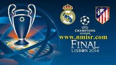 Real Madrid vs Atletico Madrid 24/5/2014 UCL Final channels broadcast match live