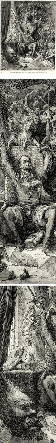 Miguel de Cervantes en los ojos de Gustave Doré.