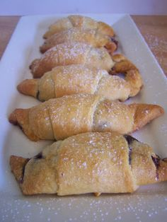 Blueberry Crescent Rolls - Robyn's View