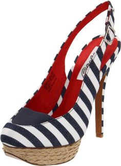 Naughty Monkey Women's Overboard Platform Sandal $64    As an aside, I love every pair of naughty monkey shoes I own.