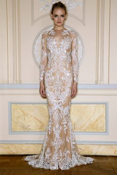 If I did the wedding dress over, this would be it! Zuhair Murad Spring 2013.