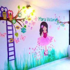 60 Nombres de bebé plasmados en hermosos murales infantiles - Blog de BabyCenter