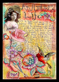 An Artist's Life by fluteforthought, via Flickr