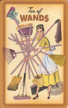 Card of the Day - 10 of Wands - Friday, July 7, 2017