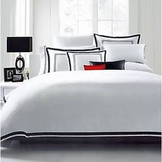 $53 Luxe Home Collections HC 3 Piece Duvet Cover Set; King/California King, Black