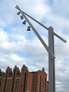 Überseequartier Hafen City - Santa & Cole LATINA streetlamp by the architect Beth Galí www.santacole.com #lighting #design