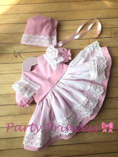 Girls Party Dress, Baby Girl Dresses, Baby Dress, Girl Outfits, Spanish Dress, Spanish Style, Girls Hand, Baby Girls, Wednesday Addams Dress