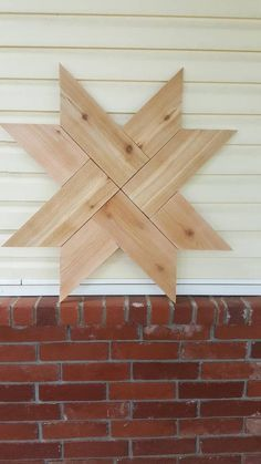 Farmhouse Rustic Wooden Star Barn Quilt Star Barn Star, 8 Point Star Unpainted Ready to paint, stain or seal - Holz Design Barn Quilt Designs, Barn Quilt Patterns, Block Patterns, Woodworking Furniture, Woodworking Projects, Woodworking Plans, Wood Furniture, Woodworking Techniques, Woodworking Shop