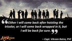 These 11 Indian Army Quotes will Definitely fill your heart with pride - Life 'N' Lesson Pak Army Quotes, Army Women Quotes, Inspirational Military Quotes, Indian Navy Day, War Quotes, Warrior Quotes, True Quotes, Indian Army Quotes, Marine Corps Humor