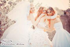 Photoshop Actions Vintage Wedding Photography / Photo Editing Effects (Affinity). $5.00, via Etsy.
