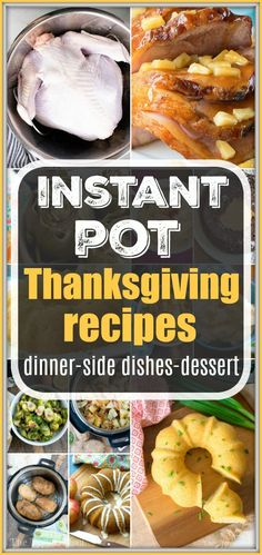 instant pot christmas recipes Instant Pot Thanksgiving recipes youll need for the holidays! From Instant Pot turkey to pressure cooker side dishes amp; dessert, weve got you covered. Perfect list to use for Instant Pot Christmas recipes too. Pressure Cooker Turkey, Instant Pot Pressure Cooker, Slow Cooker, Pressure Pot, Rice Cooker, Holiday Recipes, Dinner Recipes, Christmas Recipes, Christmas Parties