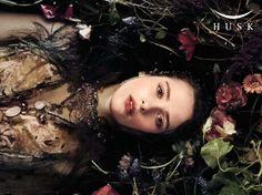 "The Look: ""Ophelia for HUSK"" by Cecilia Fox, pre-raphaelites"