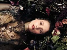 "The Look: ""Ophelia for HUSK"" by Cecilia Fox, pre-raphaelites"