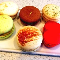 Macrons from Soirette in Coal Harbour
