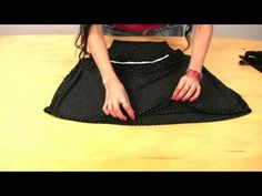 Como fazer um vestido de cocktail (elástico na cintura|) - YouTube