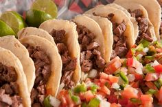 Authentic Mexican Carne Asada Steak Tacos! Get the #recipe here http://www.betterlivingny.com/authentic-mexican-steak-tacos/ #mexico #food #cooking #recipes