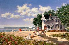 Beach Days Painting