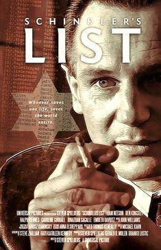 Original Schindler/'s List 1993 movie poster