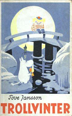 1957 Trollvinter, Tove Janssons femte bok i serien om Mumintrollen, publiceras. Tonen i boken är mörkare och mer introspektiv jämfört med de tidigare böckerna. Mumintrollet är ofta ensam, ledsen, arg eller rädd - resultatet av att tvingas leva i en värld som han inte tycker sig passa in. Även om charmen i de tidigare böckerna finns kvar, utforskar berättelsen Muminkaraktärerna djupare än tidigare.