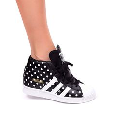 ADIDAS SUPERSTAR UP PLATFROM WEDGES SHOES