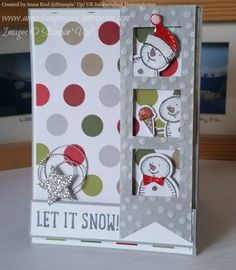Simply Sketched Saturday Challenge Blog Hop #4 – Let It Snow
