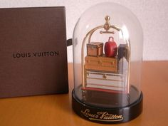 "Louis Vuitton Miniature ""porter Trolley"" Special Gift For Vip"