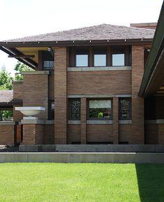 Darwin D. Martin House. FLW. 1903-5. Buffalo, New York