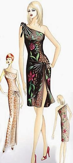 Love this one! Marfy 2005 pattern collection