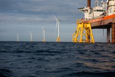 Americas First Offshore Wind Farm Spins to Life