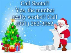 Santa's Phone Number (Call Santa for FREE!)