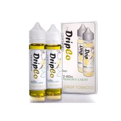 Drip Co Certified Crisp Tobacco 120ml   Get All of these E-Liquids and more @ http://TeagardinsVapeShop.com or look for Teagardins Vape Shop in google play store today to get all the Newest vape products right on your cell phone.
